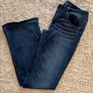 American Eagle super stretch flare jeans